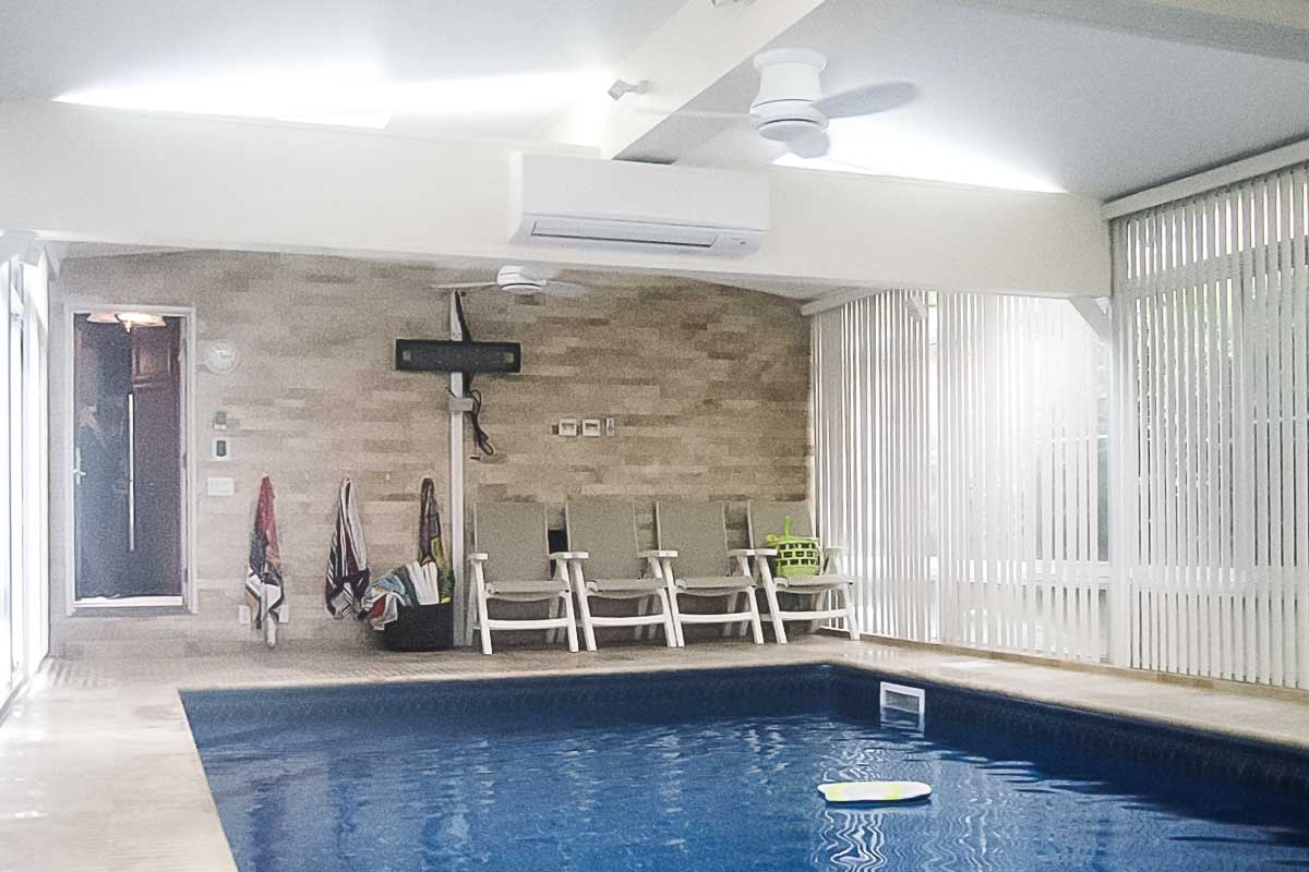 Woodmere, NY Pool Enclosure by NY NJ Sunrooms and Additions